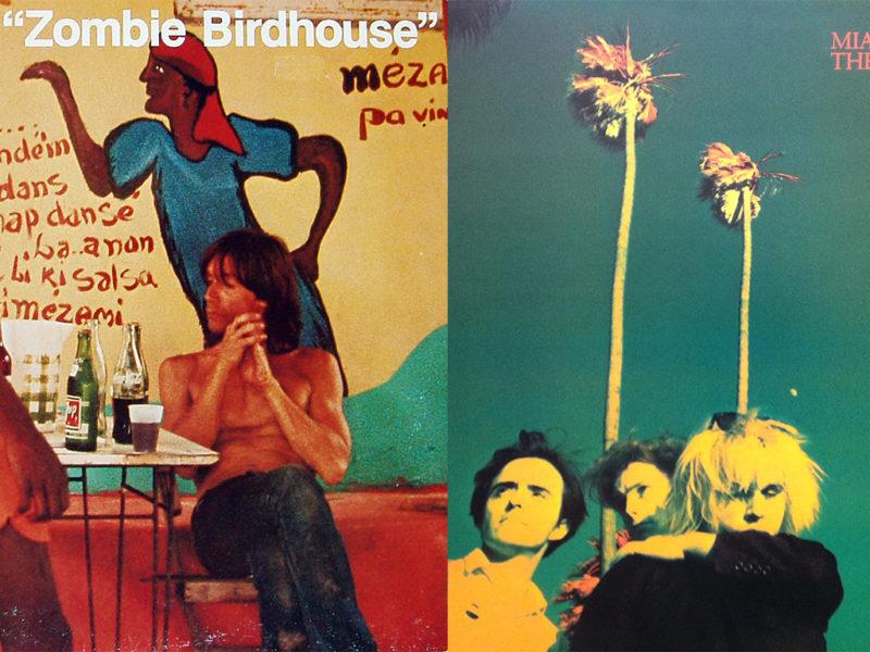 Plattencover: 'Zombie Birdhouse' und 'Miami'